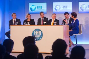 Podiumsdiskussion beim 7.FMH-Award